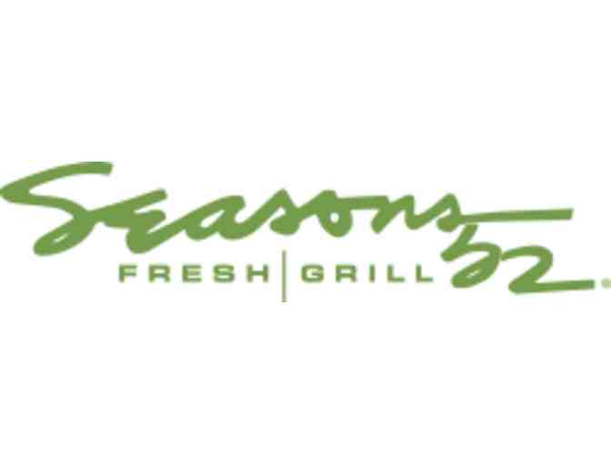 $100 Gift Certificate to Seasons 52 Fresh Grille