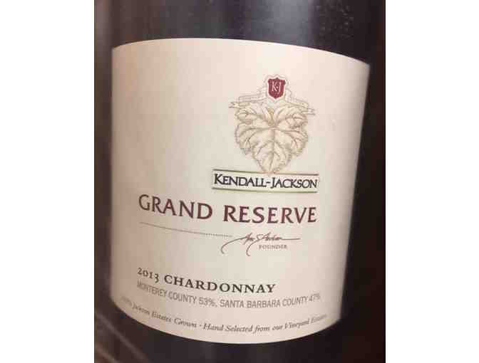 Bottle of Kendall-Jackson Grand Reserve Chardonnay 2013