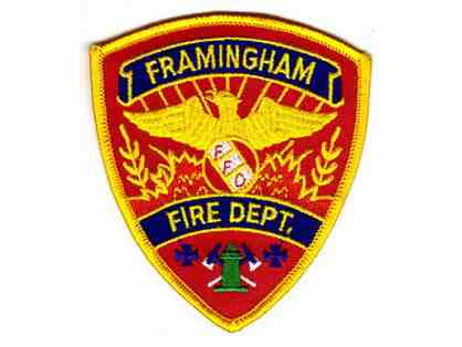 Unique Experience - A ride in a Framingham Fire Dept Truck