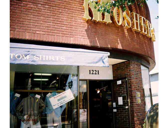 $100 Gift Certificate for Mosher's Men's Fine Clothing - Photo 2