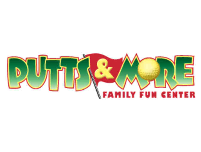 $50 Gift Certificate to Putts and More Miniature Golf Course - Photo 1