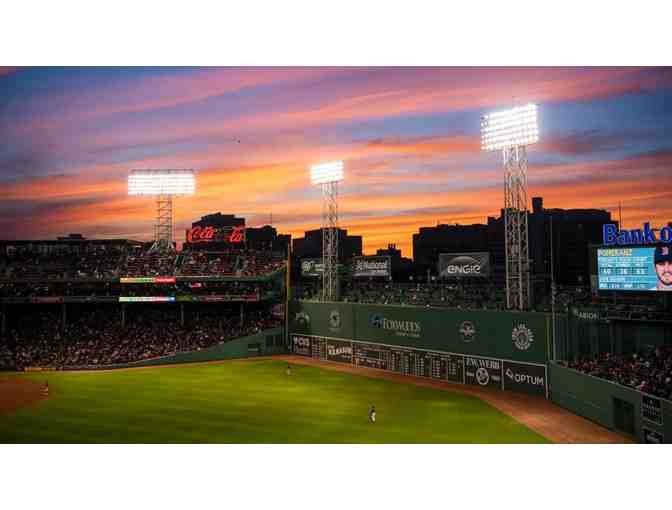 2 - Red Sox Tickets - Field Box 40 Row D Seats 1&2 - Photo 2