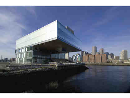 2 tickets to The Institute of Contemporary Art/ Boston