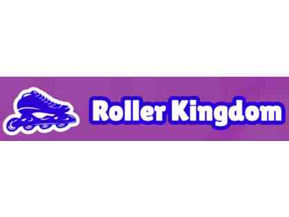 8 Admission Passes to Roller Kingdom + Gift Certificate for Deluxe Birthday Party