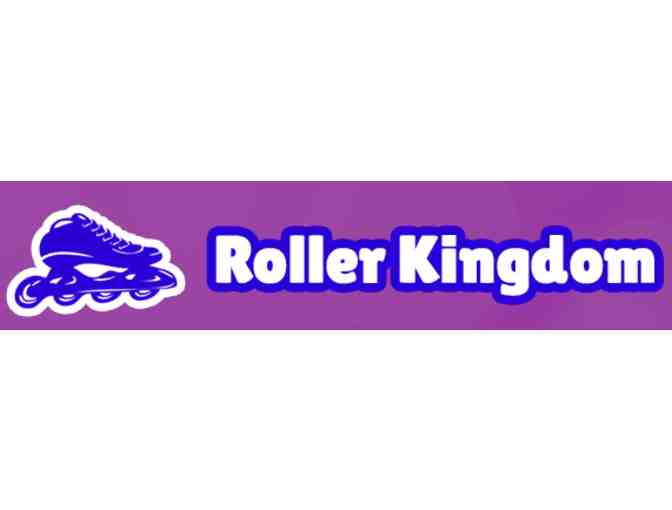 8 Admission Passes to Roller Kingdom + Gift Certificate for Deluxe Birthday Party - Photo 1