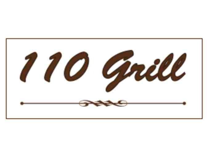 $50 Gift Certificate to the 110 Grill - Photo 1