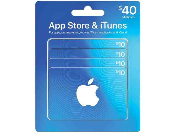 App Store & iTunes: $40 Gift Card Multipack (1 of 2) - Photo 1