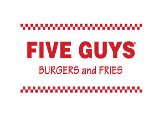Five Guys - $25 in Gift Cards