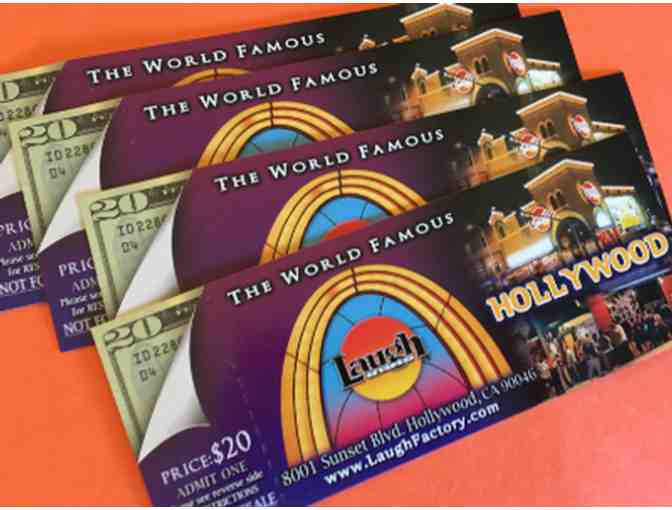Four (4) Tickets to Laugh Factory Hollywood