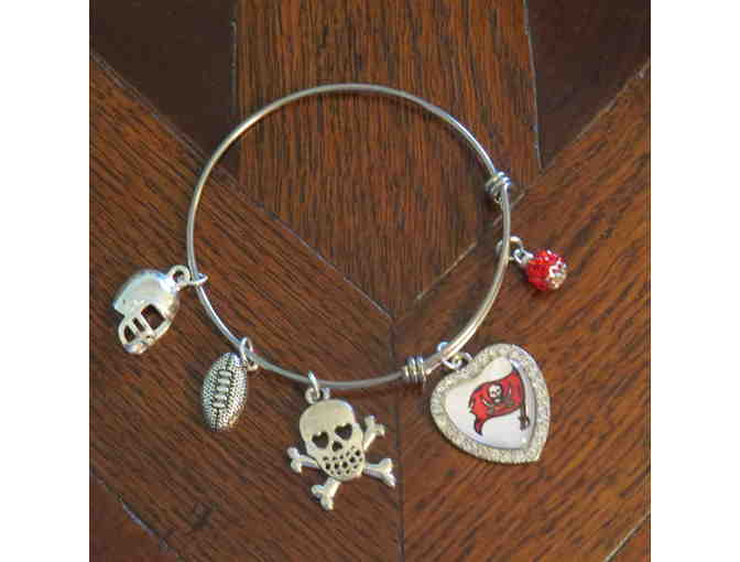 Tampa Bay Buccaneers Adjustable Bangle