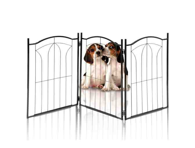 Arched Decorative Metal Pet Gate