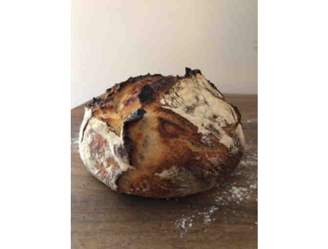 Delicious handmade bread - delivered over 2-5 weeks