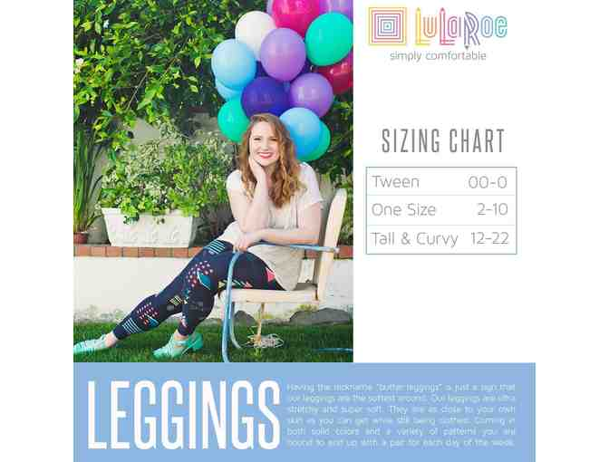 LuLaRoe Leggings:  $50 Gift Certificate and 2 Pairs of LuLaRoe Leggings - Photo 2