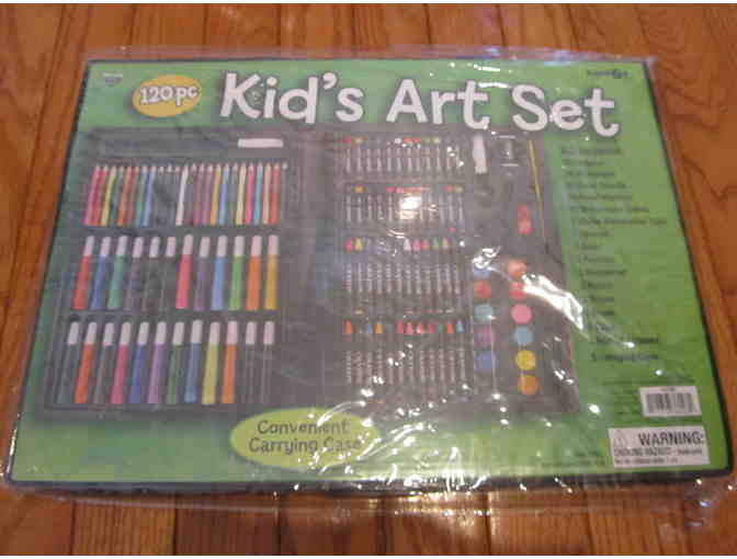 Private Art Lesson with Mrs. Korb (includes Art Kit)