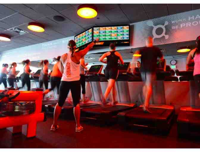 Gift Certificate to Four Orangetheory Classes in Park Potomac