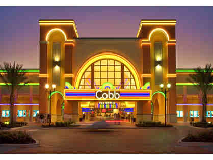 Cobb Theatres - Two (2) Admissions Good At Any Cobb Theatre
