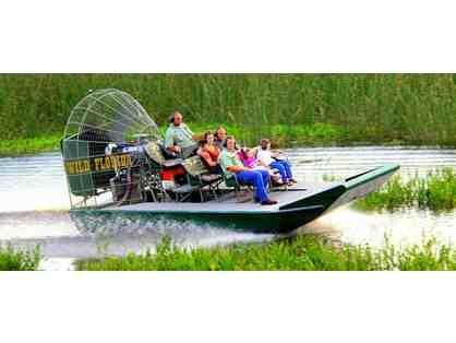 Wild Florida -  A Half-Hour Airboat Ride & Wildlife Park for Two (2)