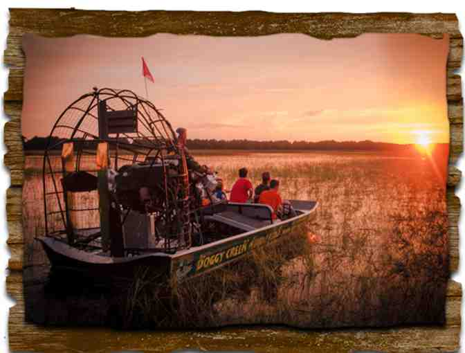 Boggy Creek Airboat Adventures - Kissimmee, FL. - Four (4) Tickets - Photo 1