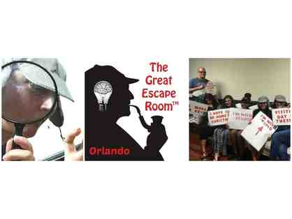 The Great Escape Room in Orlando - Two (2) Escape Room Tickets