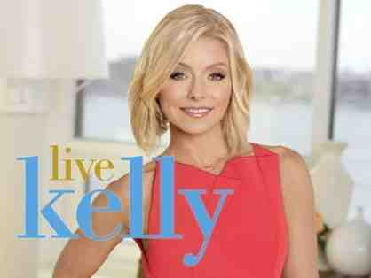 2 Tickets to Live with Kelly in NYC