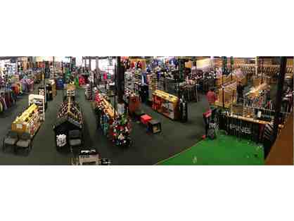 $25 Gift Certificate to Golf & Ski Warehouse