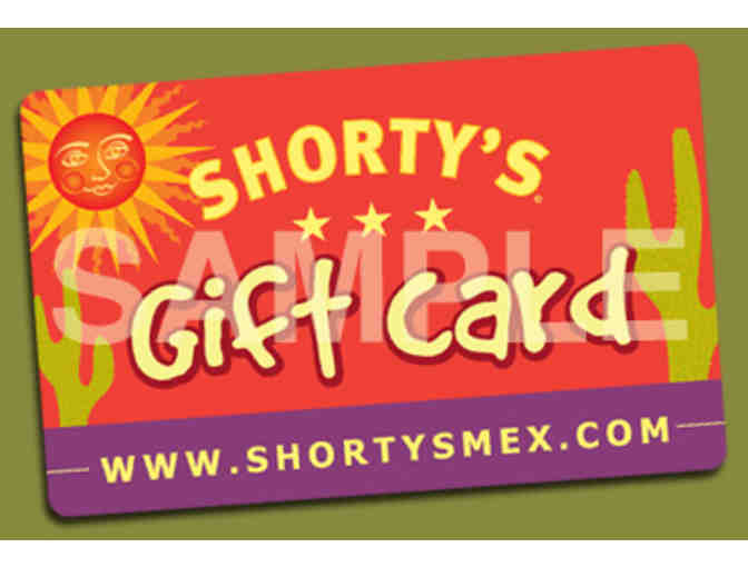$25 gift card to Shorty's Mexican Roadhouse - Photo 1