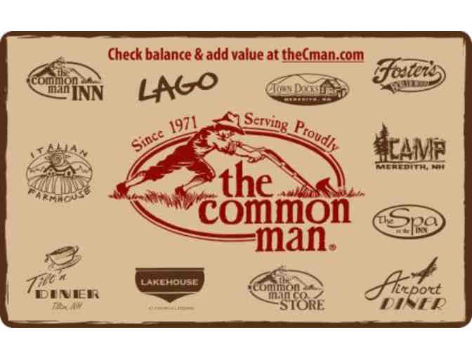 $25 Gift Card to The Common Man Restaurants - Photo 1