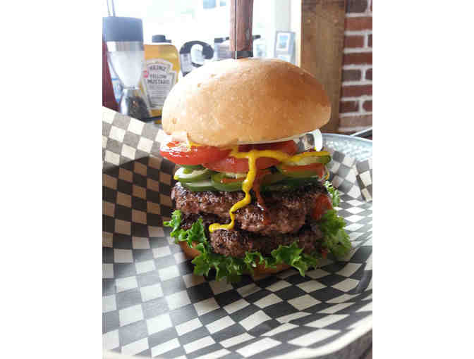 $25 Gift Card to VIBES Gourmet Burgers - Concord, NH - Photo 1