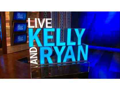 2 VIP Tickets to Live with Kelly & Ryan in NYC