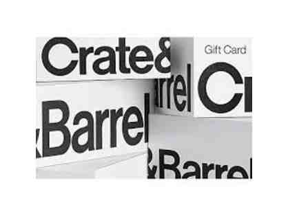 $100 Crate & Barrel Gift Card