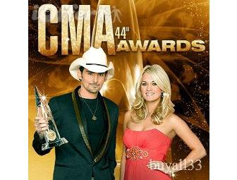 COUNTRY MUSIC AWARDS PACKAGE FOR TWO