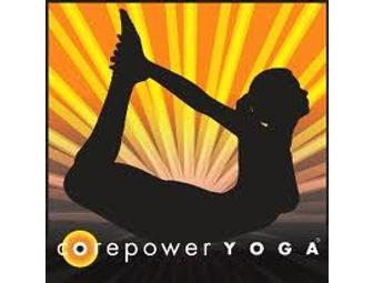 1 Month of Unlimited Yoga @ COREPOWER