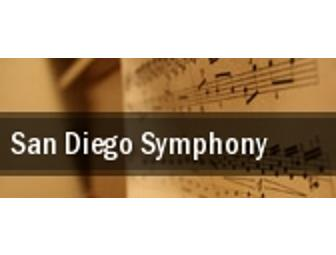 (6) SD Symphony Tix- Vivaldi's Four Seasons