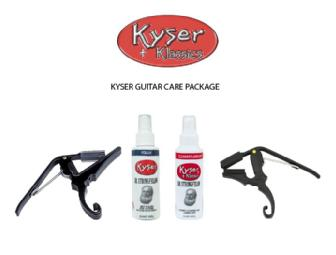 Kyser Guitar Care Package