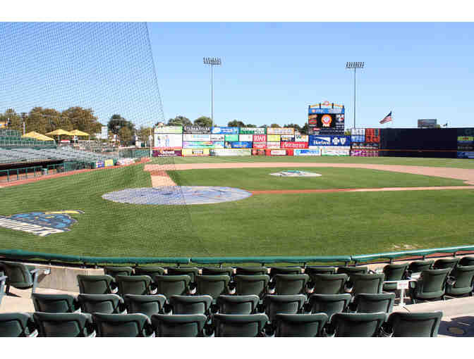3 Tickets Trenton Thunder (Yankees AA Team)  Friday August 9 3rd Row behind Home Plate - Photo 1