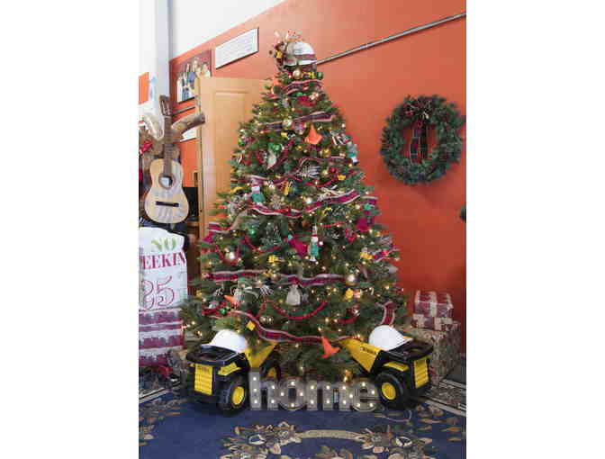 Tiny Tonka Truck Tree - Habitat for Humanity @ ReStore