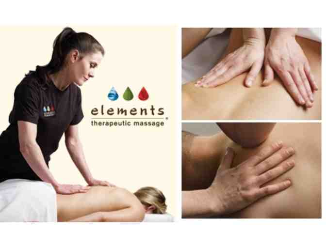 Elements Therapy - 2 Massages in Newton, MA