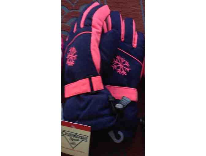 Girls Ski Gloves (sixe 4-6X)