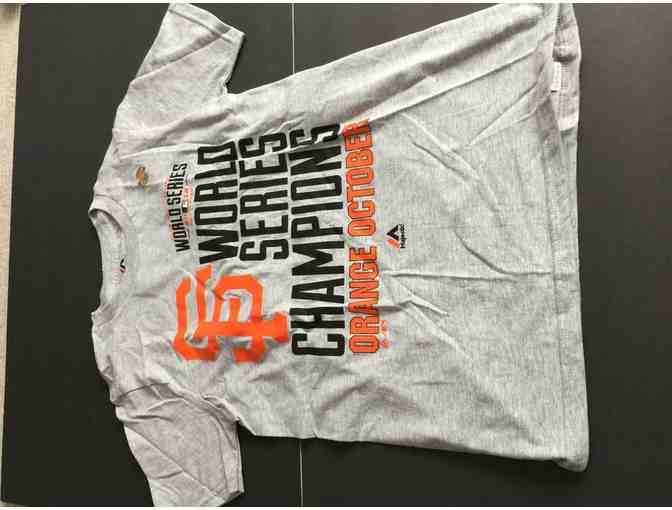 Two Giants World Series Champions T-Shirts