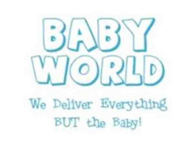 $25 Gift Card for Baby World
