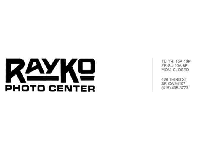 $250 Gift Certificate for any Class at Rayko Photo Center
