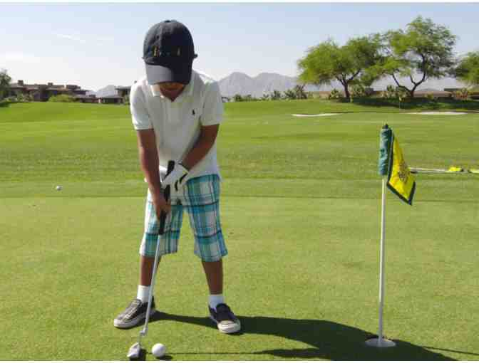 Three Child Golf Lessons