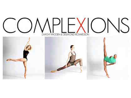 Complexions Contemporary Ballet for Two