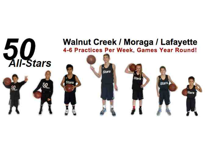 50 All-stars, Moraga: Five free events, three t-shirts and one book.* - Photo 1