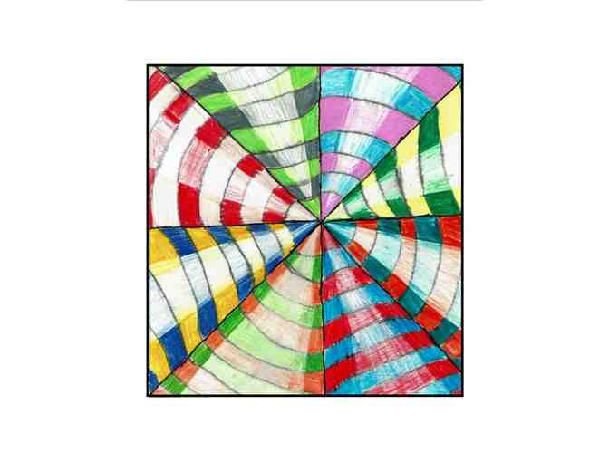 Fifth-Grade Notecards: 'Op Art'