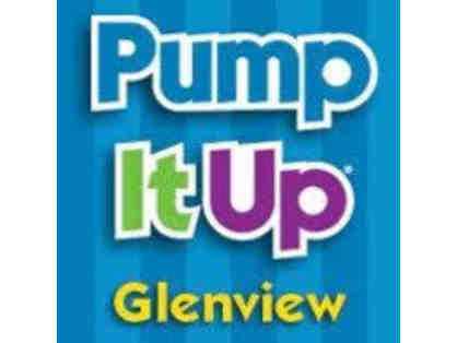 Pump It Up Glenview - Open Jump Passes, Gift Certificate, & Goodie Bag