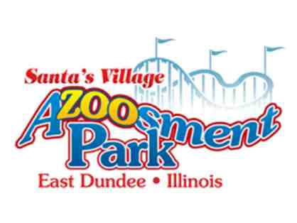Santa's Village Azoosment Park - Certificate for 4 admissions