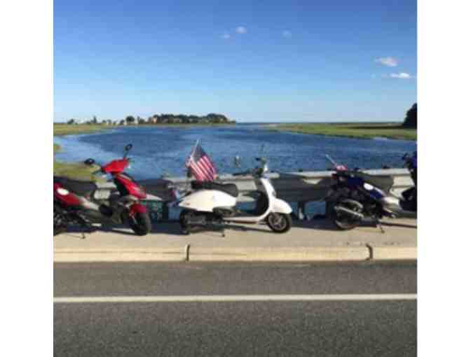 Guided Scooter Tour for 2 during the 2018 Season - Coastal Maine Scooter Rentals