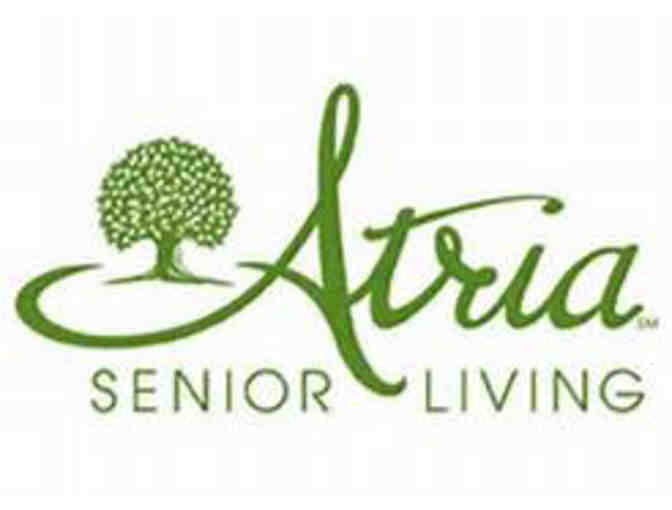 Private, gourmet dinner for six, prepared by the chef at Atria Senior Living