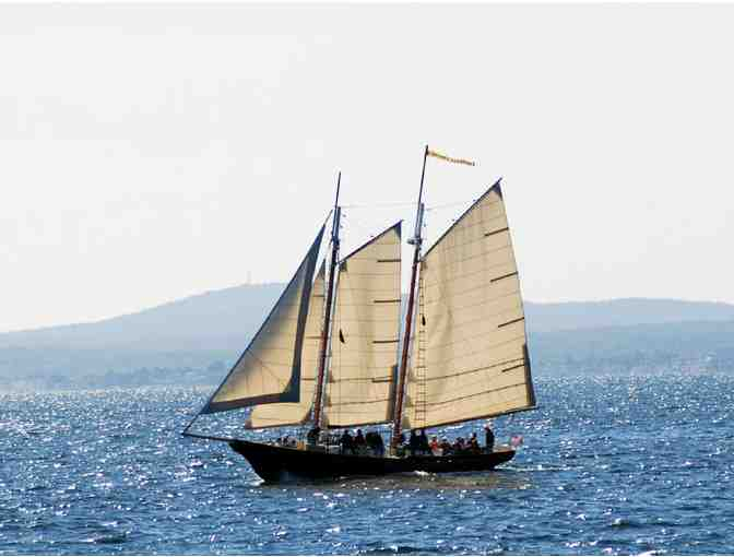 Romantic sunset cruise for two aboard the Schooner Eleanor